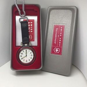 Victorinox & Swiss Army pocket watch, in box